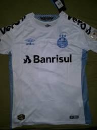 Camisa GRÊMIO BRANCA, 2019-2020 M ao 2GG