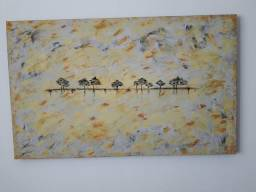 Quadro pintura abstrata 1.40×1.00