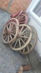 Rodas De Carroça Antigas