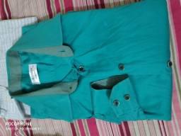 USADA - Camisa Social Dilomon 38 Verde