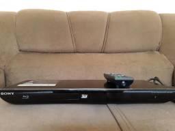 Blu ray play 3d conexao com internet cabo hdmi entrada usb