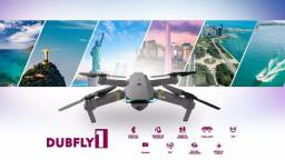 Drone Dub DubFly 1 4k Ultrahd Wi-fi Lacrado Passo Cartão