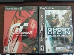 Jogos Originais de PS2 - Pra vender logo