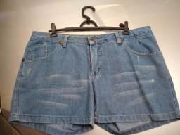 3 bermudas jeans fem tam 44 sem elastano mto bem conservadas 0d8ecec22ad