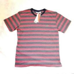 Camisa Lacoste L!VE - ultraslim Fit Listrada FRANÇA b9b377d066038