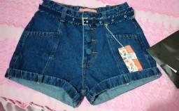 Troco short novo 38 por outro jeans ou saia jeans 38