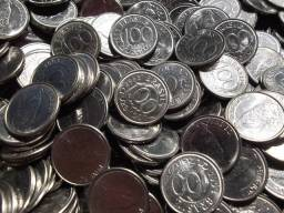 1.000 moedas de 100 cruzeiros ano 1993