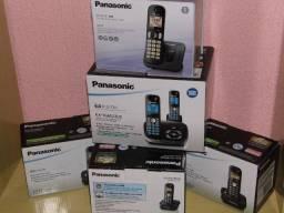 Telefones sem fio Panasonic produtos novos consultem entregamos em Poa-rs