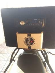 Caixa de para moto  som