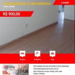 Apartamento 2 dormitórios para Locação em Pelotas, Centro, 2 dormitórios, 2 banheiros, 1 v