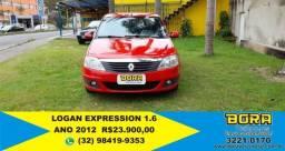 LOGAN 2012/2012 1.6 EXPRESSION 8V FLEX 4P MANUAL