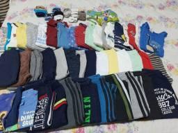 Lote roupas para bebê