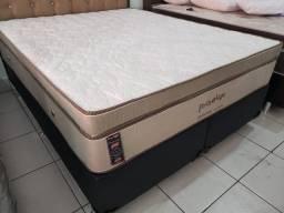 ;; conjunto box + Colchão Mediteraneo 158x198