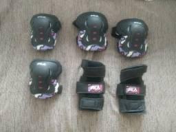Kit de Proteção Infantil Unissex da marca Fila