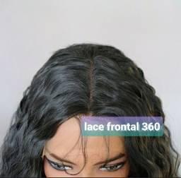 Cabelo Lace frontal 360 novo