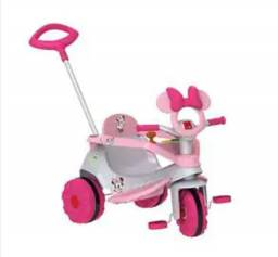 Triciclo velobaby bandeirantes minnie