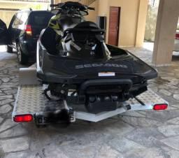 Carretinha reboque para jet ski de ferro