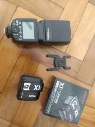 Flash godox 685canon + transmissor x1