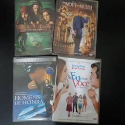 4 dvd originais filmes