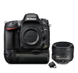 Câmera profissional Nikon D610