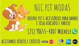 Roupinhas Pet - Nic Pet Modas (Leia todo Anúncio)