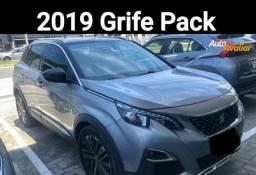 3008 Grife Pack 2019 Único dono Baixa Km Oportunidade Única