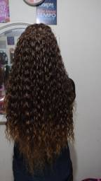 Mega hair e tranças