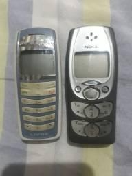 Celulares Nokia modelo antigo