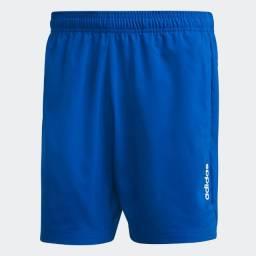 Short Adidas Essentials Plain Chelsea Azul, Original. Tamanho GG