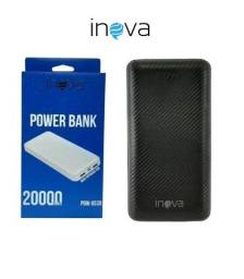Carregador Portátil 20.000mah Inova Turbo Power Bank Bateria Portátil