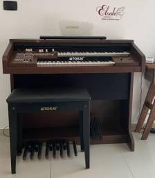 Orgão eletrônico Tokai MD10II semi novo