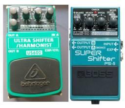 Pedal shifter harmonizer (whammy) na caixa.