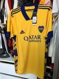 Camisa original Boca Juniors, tamanho G, nova na etiqueta