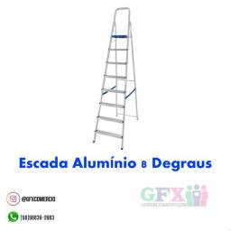 Título do anúncio: Escada alumínio 8 degraus - a pronta entrega ?
