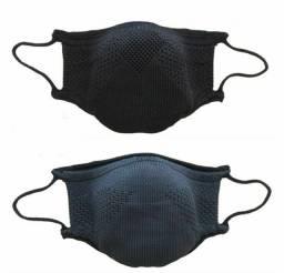 Mascara Knit tamanho M preto com chumbo