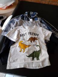 Camisa Masc. Infantil - 4 Pares