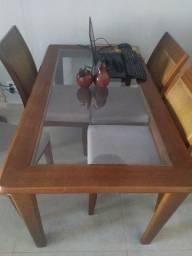 Título do anúncio: Mesa e cadeiras de jantar