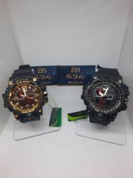 Título do anúncio: 3 Relógios Smael Funcional por 150,00 Reais.