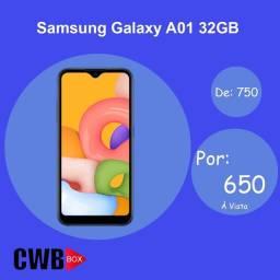 Samsung Galaxy A01 32GB   Novo Lacrado + NF