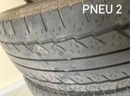 Conjunto com 4 Pneus 255/70 16 usados