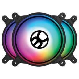 Título do anúncio: Cooler Fan Bluecase com Led RGB, 120mm - BF-19RGB