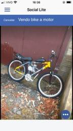 Vendo bike a motor