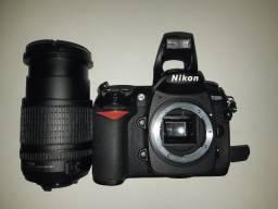 Nikon D200 + Lente Nikon 18-135 - Pouquíssimo uso