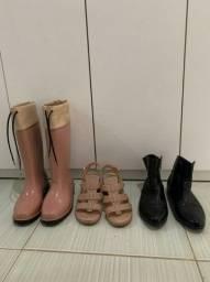 Melissa numero 37 - Botas e sandalia
