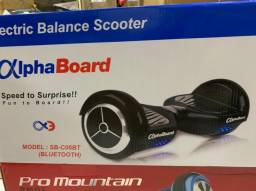 Scooter Elétrico Inovia Alphaboard Sb-c06bt 6.5 - Bluetooth Preto