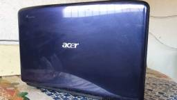 Notebook Acer (Com problema na Bateria)