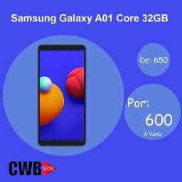 Samsung Galaxy A01 Core 32GB   Novo Lacrado + NF