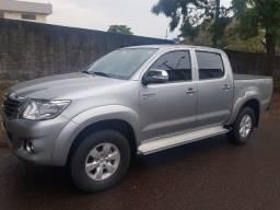 Toyota Hilux Cd SRV 4X2 2.7 16V Flex Aut. 2015 Prata