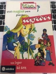 Livro Witch - 100 magias para guardar segredos