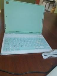 Capa Ipad + teclado NOVO